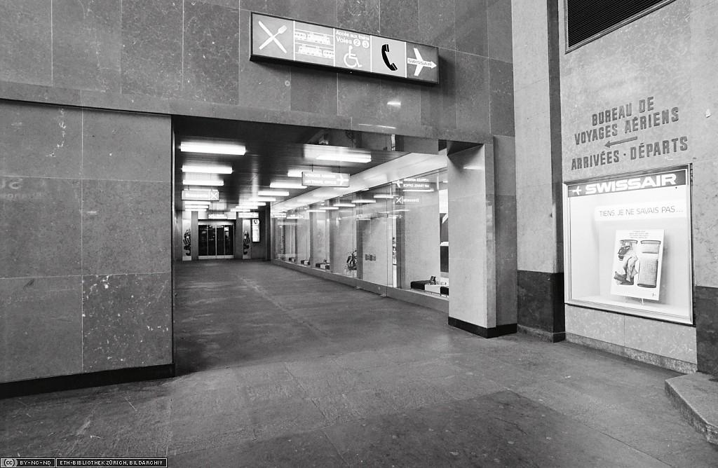 Gare Cornavin, intérieur