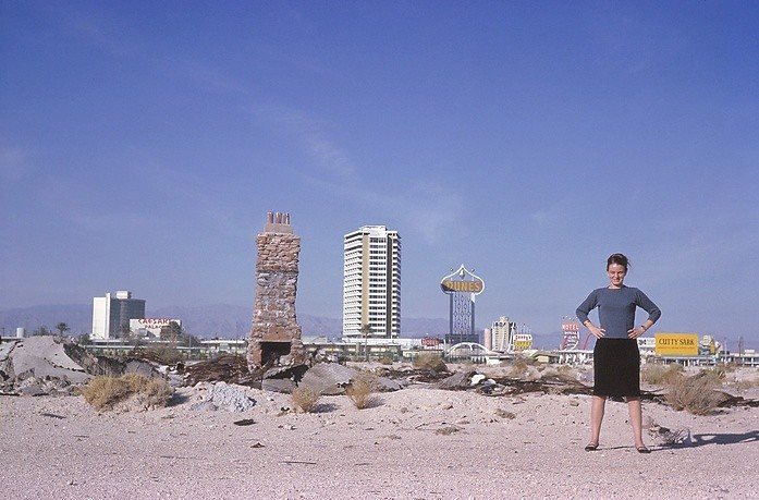 Las Vegas: The Strip seen from the desert